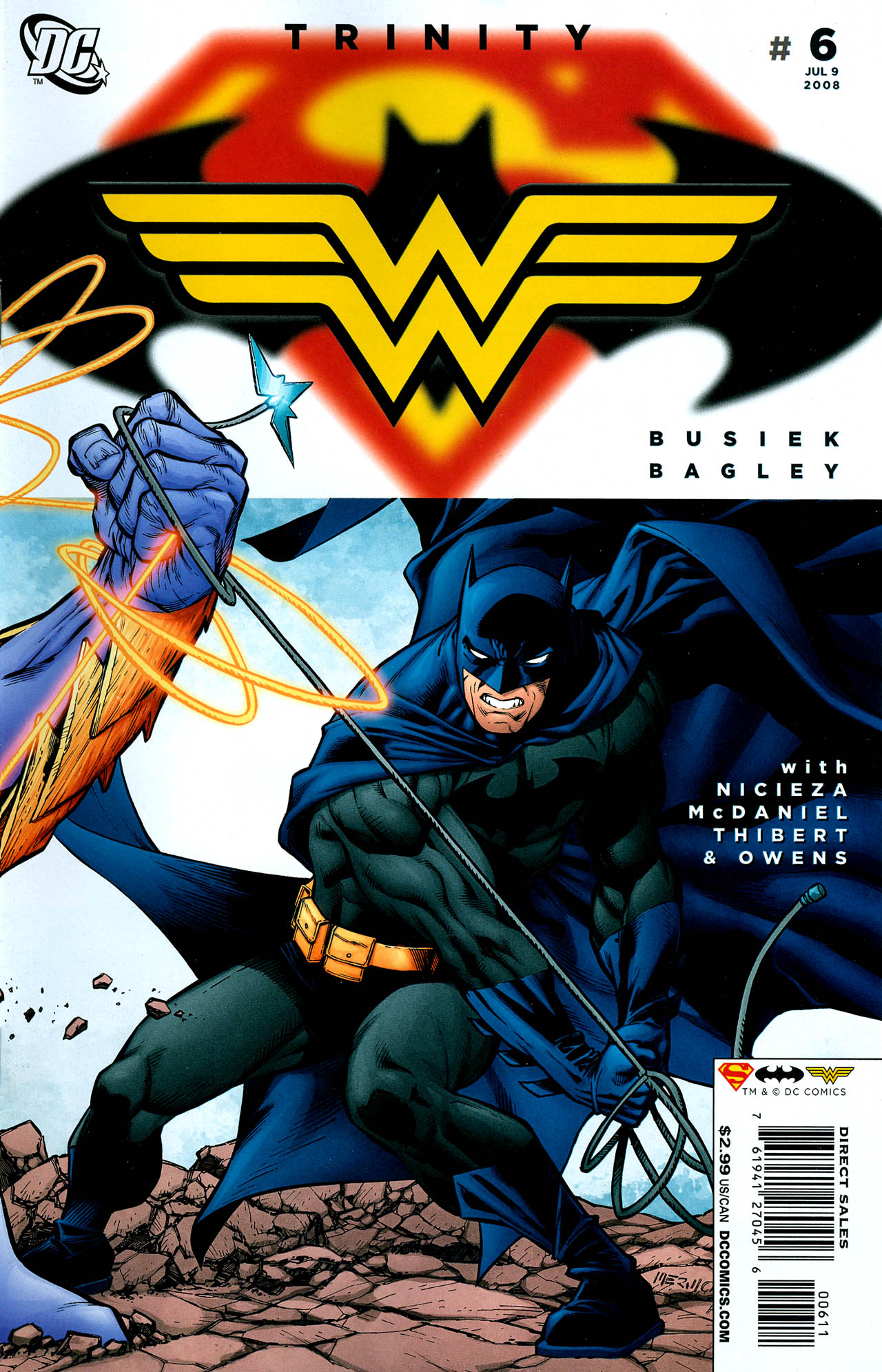 Read online Trinity (2008) comic -  Issue #6 - 1