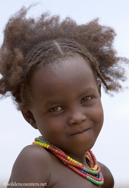 african little girl  hairstyle