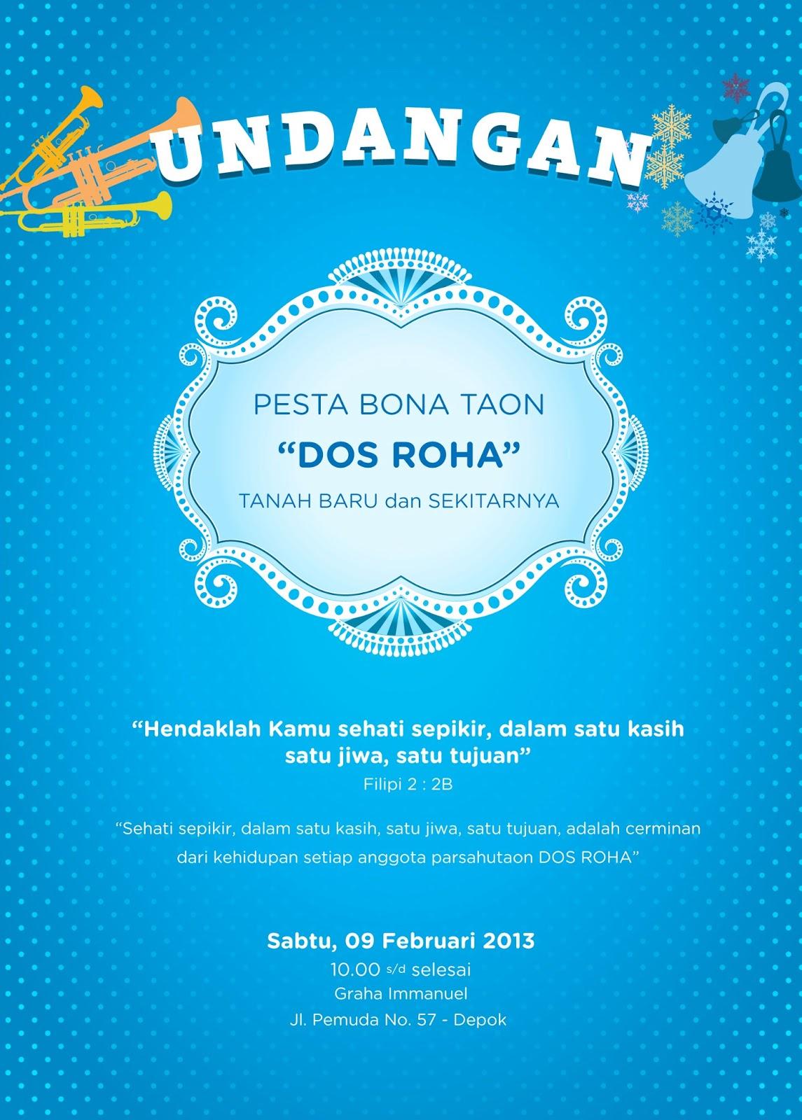 artwork invitation quotdos rohaquot