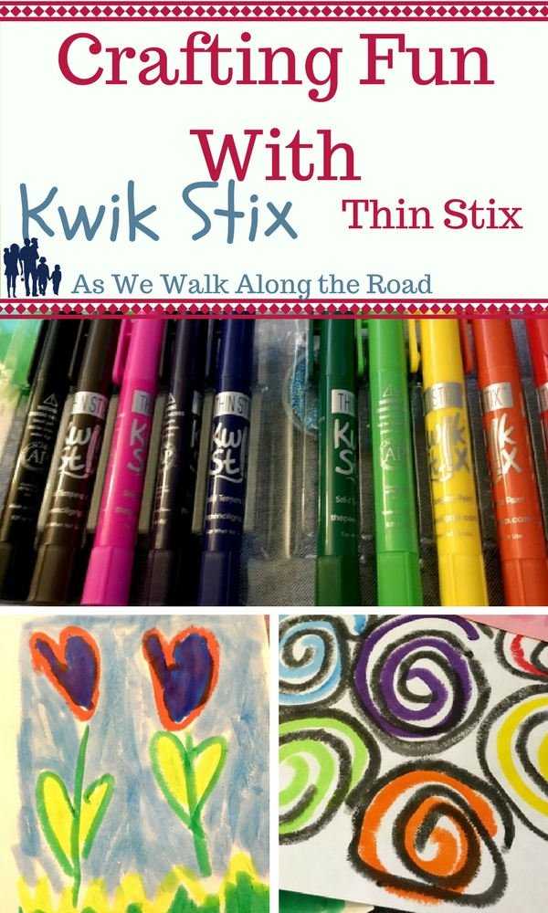 Crafting With Kwik Stix Thin Stix from The Pencil Grip Inc.