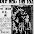 Exploring the Death of Chief Joseph in Chronicling America