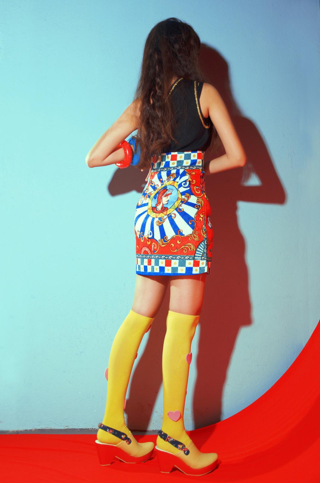 fashion campaign colorful photoshoot magazine diana rikasari haqi cahya haqeeu korean model