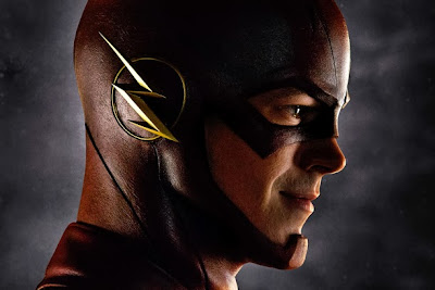 CW Arrow TV series spin off The Flash with Grant Gustin