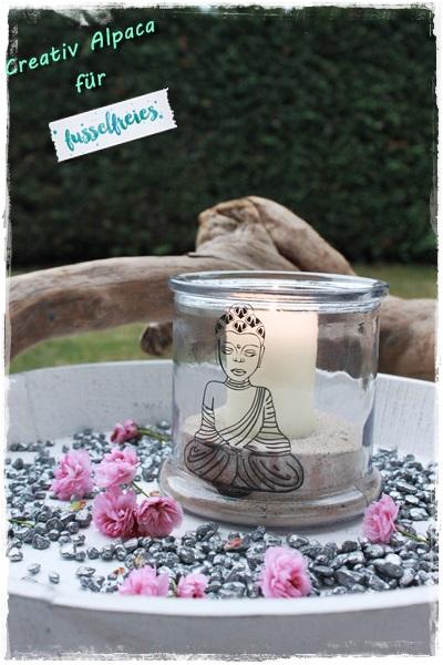 Buddha Probeplotten Fusselfreies