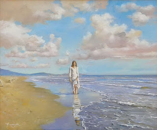 impresionistas-pinturas-mujeres-mares