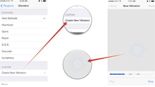Vibration Settings iPhone