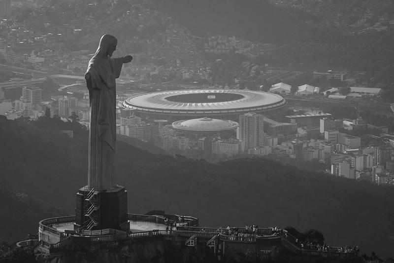 Maracana - Cristo Corcovado Rio de Janeiro