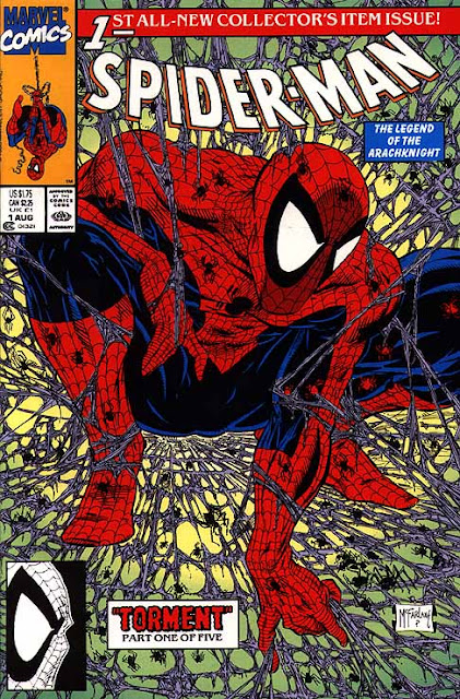 Spiderman de Todd McFarlane