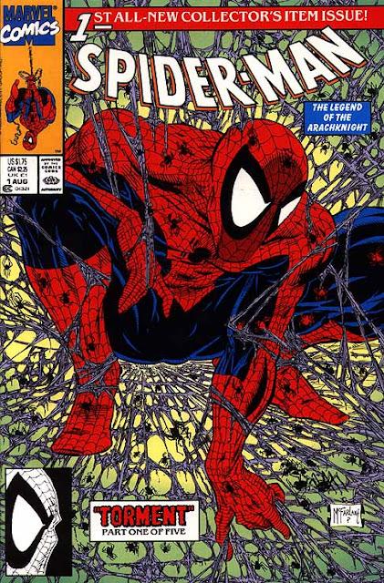 Spiderman de Todd McFarlane