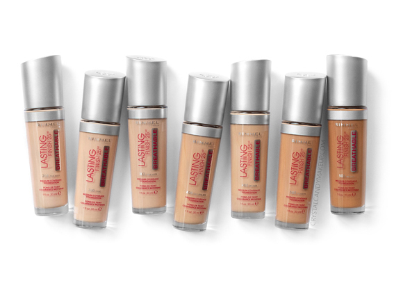 Rimmel Lasting Finish Breathable Foundation 203 300 303 400 402 502 503
