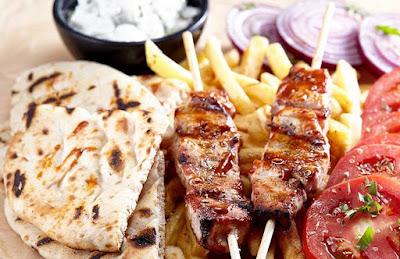 Impresii meniu Yasou Express restaurant grecesc
