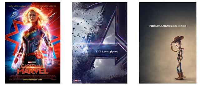 Tráiler, Capitana Marvel, 'Vengadores: Endgame', 'Toy Story 4', Superbowl