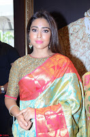 Shriya Saran Looks Stunning in Silk Saree at VRK Silk Showroom Launch Secundrabad ~  Exclusive 131.JPG