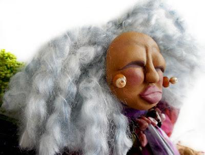 Crone Matters an OOAK Spirit Doll for the Goddess