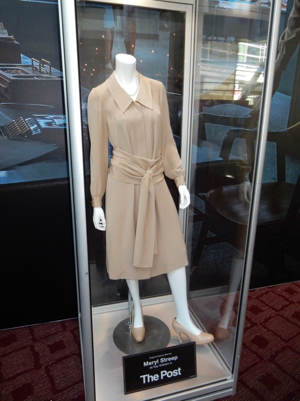 Meryl Streep The Post Kay Graham movie costume