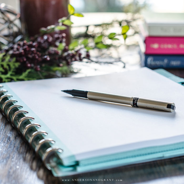 Rather than making a list of New Year's resolutions you likely won't keep or deciding on a Word of the Year to focus on, try writing a letter to yourself to open next year at this time describing where you are and where you picture yourself being after 12 months.