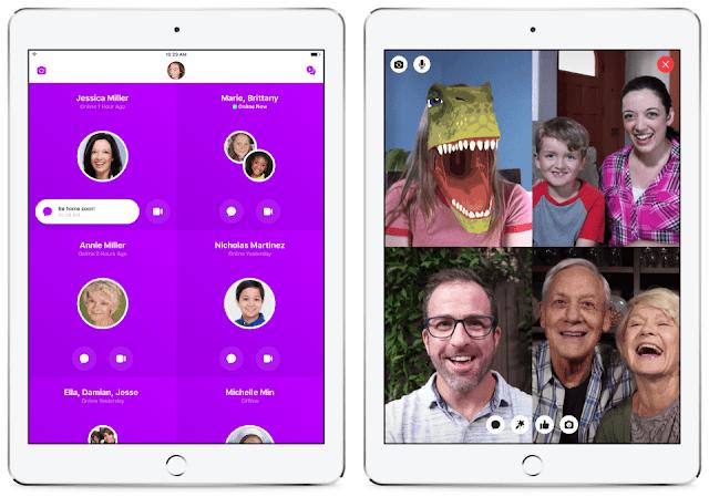 تحميل تطبيق Facebook Messenger Kids للايفون
