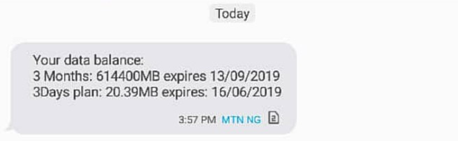 Weekend Tricks: MTN Free 900GB Code At Zero Credit Balance