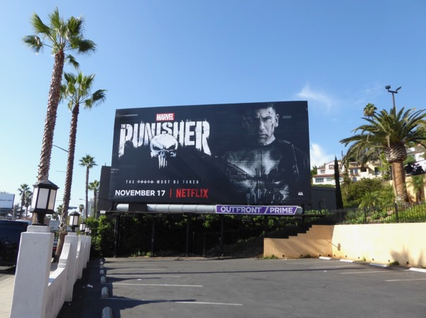 Punisher season 1 billboard
