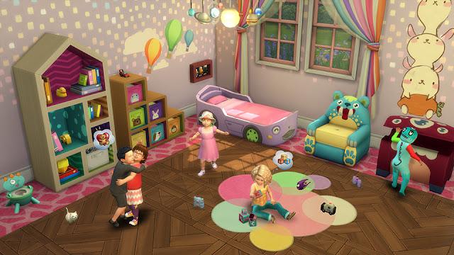 La actualización de los infantes en Los Sims trae un montón de accesorios e interactividad