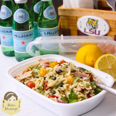 Orzo Artichoke Pasta Salad_menumusings.com