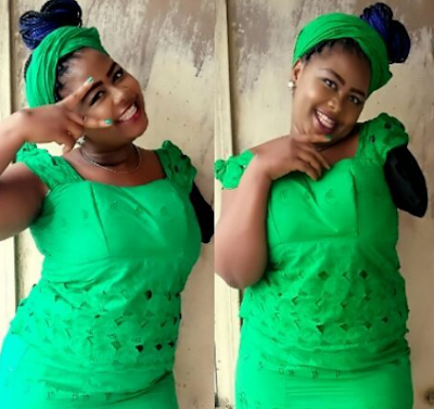 nigerian lady loses hand in accident