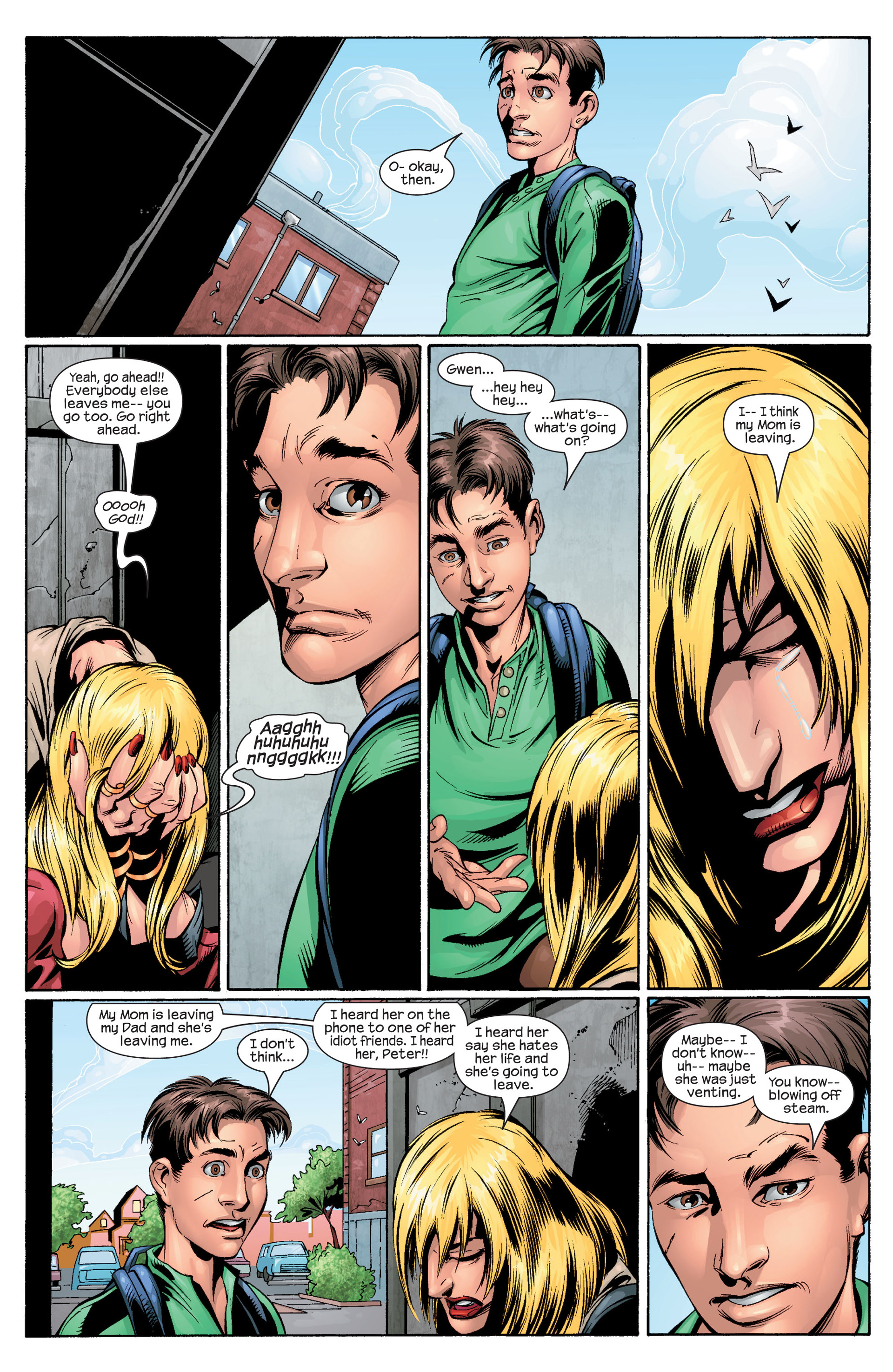 Read online Ultimate Spider-Man (2000) comic -  Issue #28 - 14