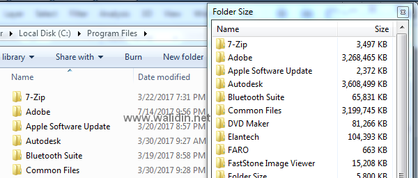 cara-mengetahui-kapasitas-folder