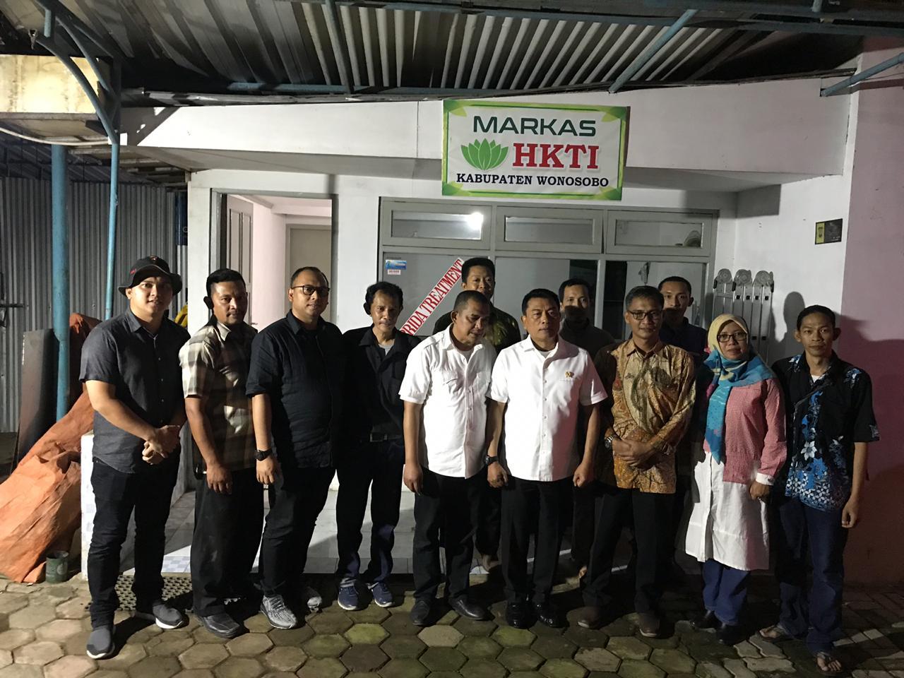 Markas HKTI Wonosobo Dikunjungi Jendral Purnawirawan Moeldoko