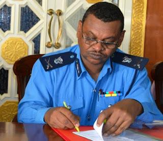 ايقاف رئيس شرطه الجمارك السودانية تقديمه للمحاكمه القانونية
