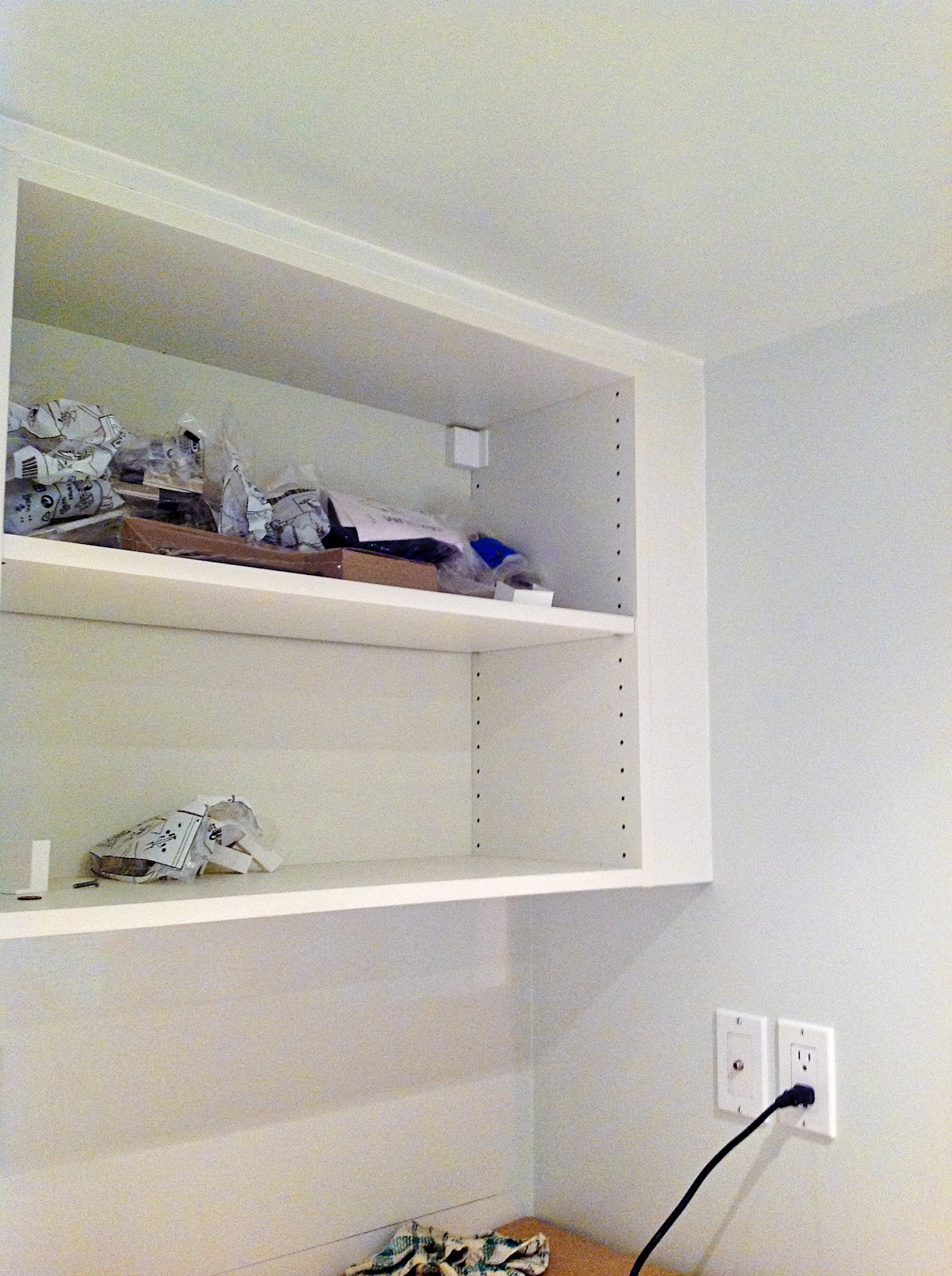 IKEA Pax filler panel, IKEA filler panel, IKEA SEKTION filler panel, make ikea PAX look built in