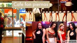 Kedai Kopi Cafe Con Piernas, Usaha Warung Kopi Kreatif Dengan Menjadikan Wanita Sexy Sebagai Brand