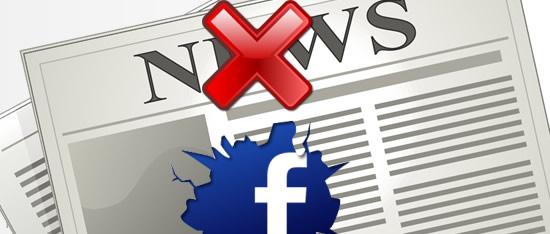 eliminar noticias facebook
