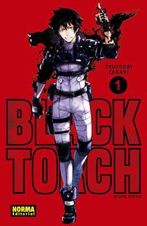 """""""Black Torch"""" de Tsuyoshi Takaki - Norma Editorial"""