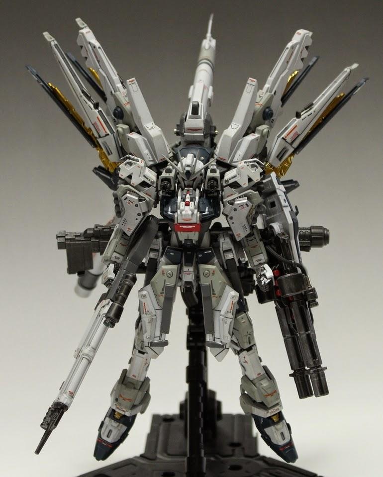 GUNDAM GUY: RG 1/144 StrikeFreedom Gundam HWS (Heavy
