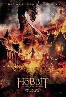 The Hobbit: The Battle of the Five Armies (2014) English Movie Poster
