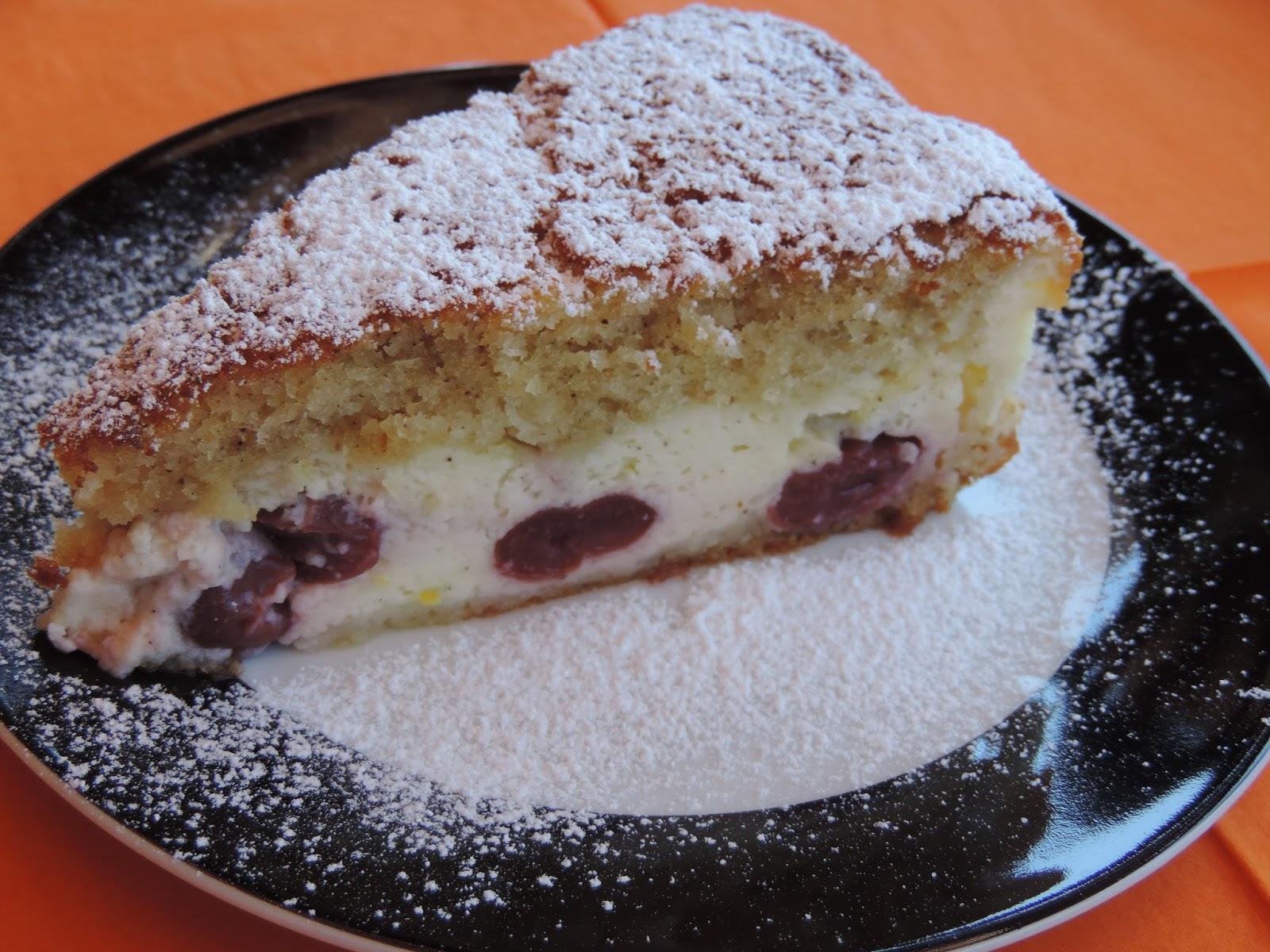 Dreh-dich-um-Kuchen mit Kirschen - Fordulj meg stemny ...