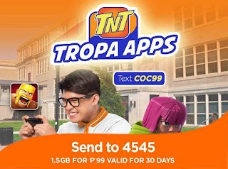 Talk N Text COC 99 Promo – 30 Days Clash of Clans App Access