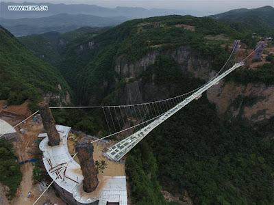 PHOTOS: World's Longest And Highest Glass Bridge