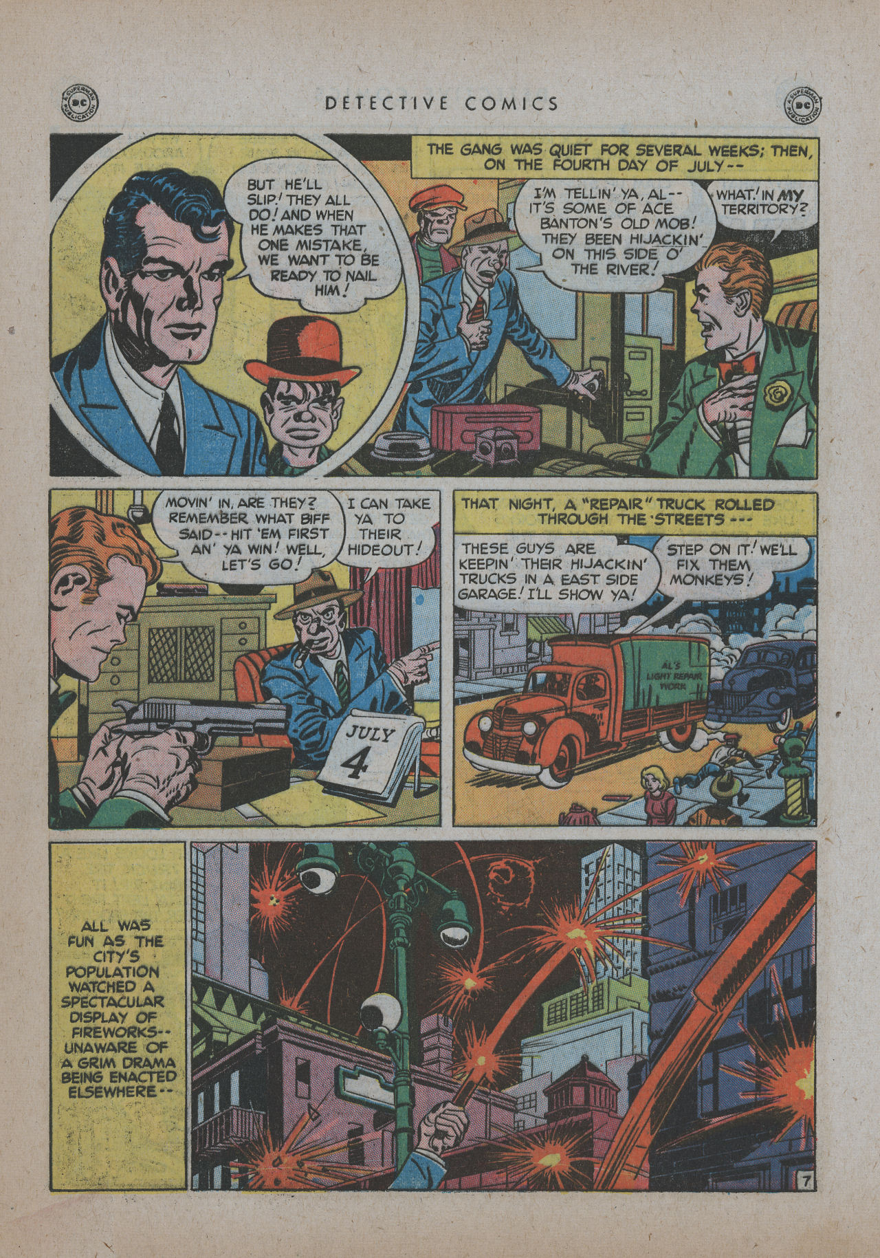 Read online Detective Comics (1937) comic -  Issue #137 - 43