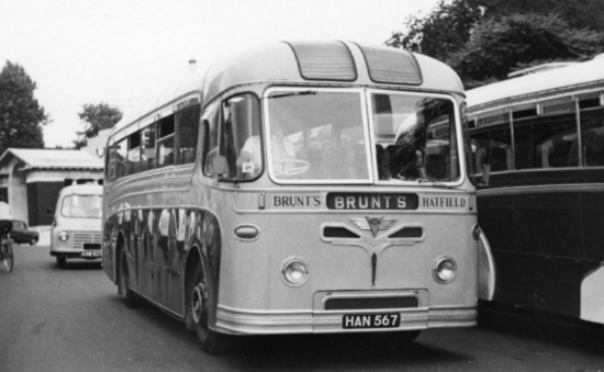 Photograph of a Brunt's Coach 1970s Image by Ron Kingdon