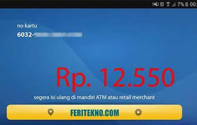 Cara Cek Saldo Kartu e-Money di HP Android 4