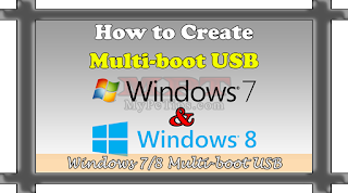 Create Multiboot USB with Windows 8 and Windows 7