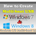 Create Multiboot USB with Windows 7/8