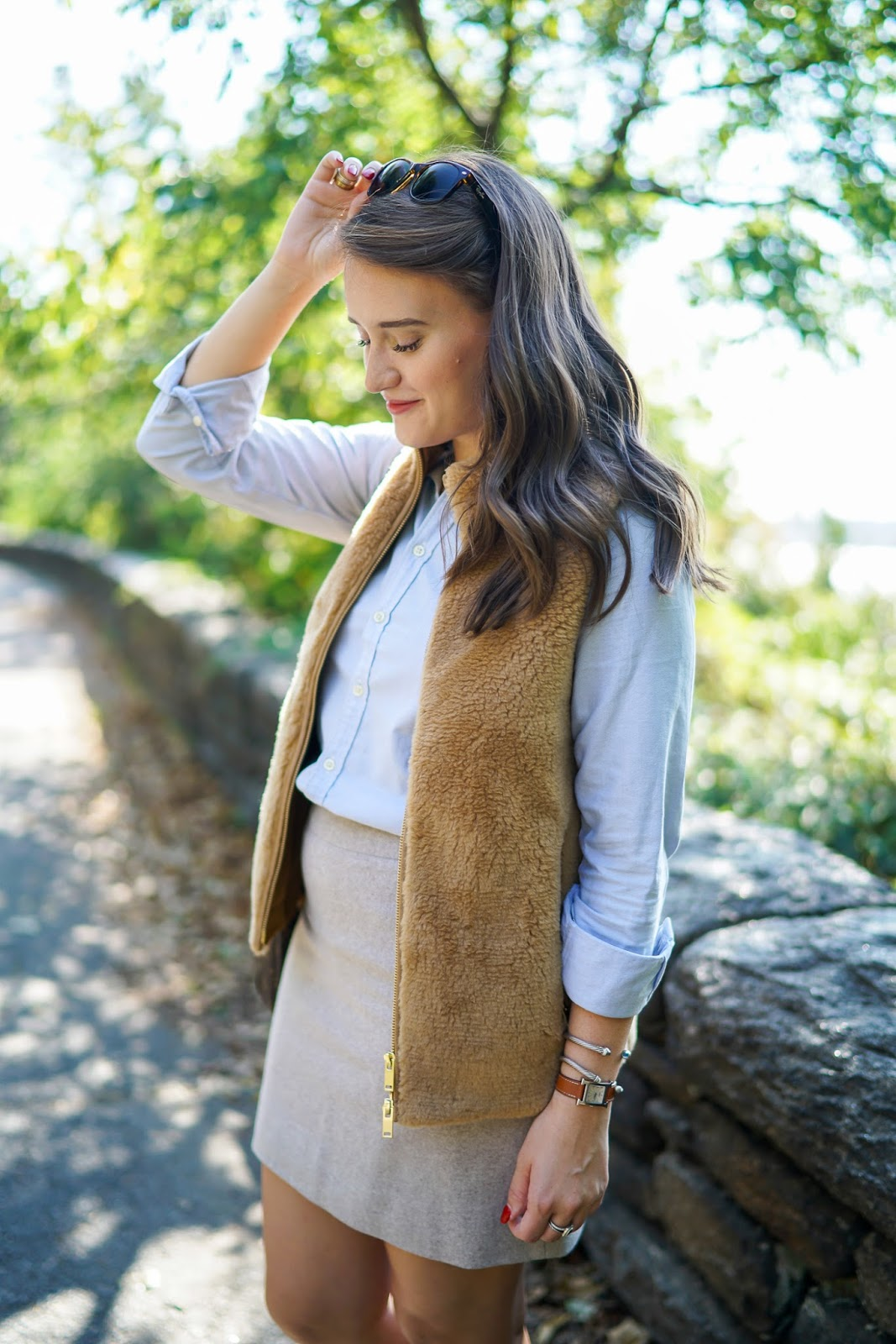 J. Crew Fleece Excursion Vest