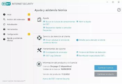 Eset Internet Security 2019 V11 Antivirus Y Android Licencia