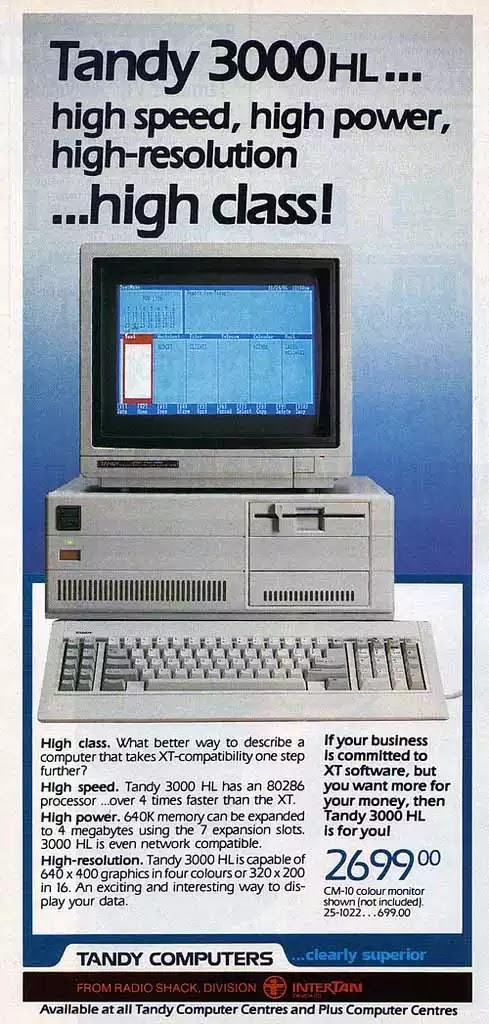 Old days' Computer Advertisements 15