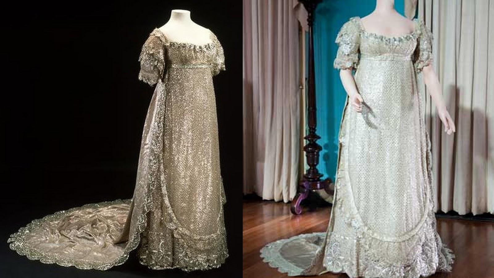 Robe de mariée de la Princesse charlotte, 1816