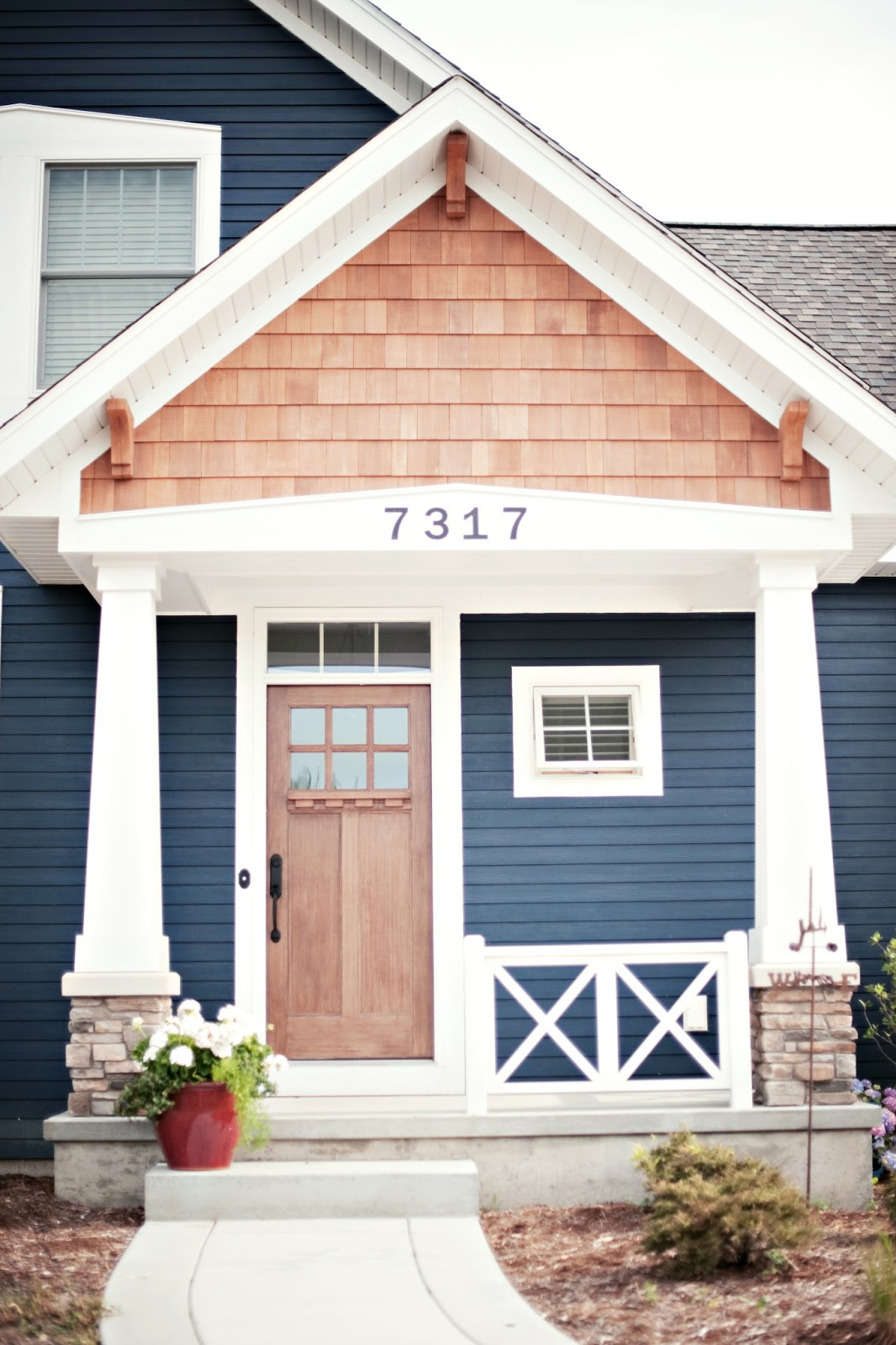 Lisa mende design best navy blue paint colors 8 of my favs for Pictures of painted houses exteriors