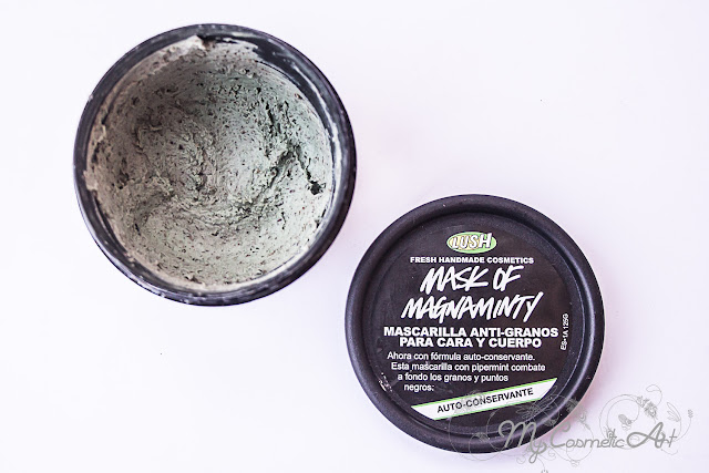 Mask of Magnaminty, mascarilla antigranos de Lush